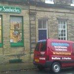 Saltaire Sandwiches shop & delivery van