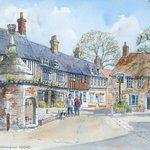 Centre of Walsingham village