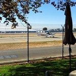 94th Aero Squadron  uitzicht op de startbaan