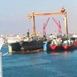 Al porto di Suez
