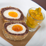 Lishmans Black pudding & Scotch Egg