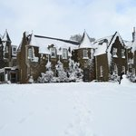 Dalmunzie castle in all its beauty