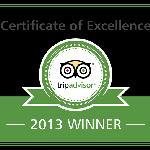 TripAdvisor Excellence 2013