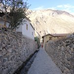 Calle de acceso al hotel