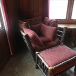 Pine Cabin comfy chair