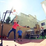 Hostal Blue Pepper basketball
