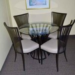 Many of our guest rooms have new furniture.