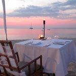 Diner am Strand