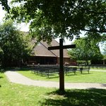 Slipper Chapel - Cross in the grounds