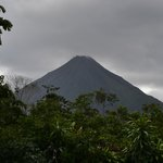 Arenal Volcano seen from cabana 7