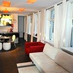 Deluxe Studio mit Schlafzimmer