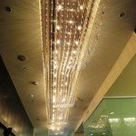 Century Plaza Hotel & Spa lobby lights, photo by Mike Keenan