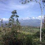Vue sur le volcan Turialba.