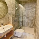 One od seven shared bathrooms