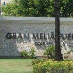 Entrando al Hotel Gran Melia!