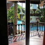 utsikt från rummet, Villa Coconut