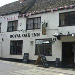 front of the royal oak