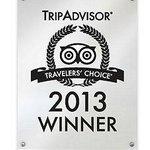 2013 Winner Travelers' Choice Award