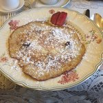 Delicious blueberry pancakes - yum!
