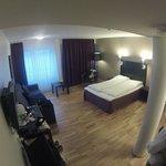 Vista de la habitación, Thon Hotel Polar