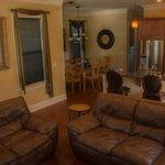 Livingroom/diningroom/kitchen