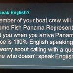 Does the crew speak English?
