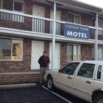 Front of the motel