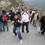 Wander World on The Great Wall of China