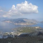View fromm the top of Fossa di Vulcano
