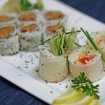 Spicy Salmon and Fuji Roll