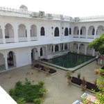 Pool courtyard