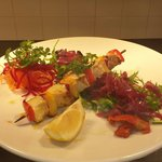 Swordfish skewer