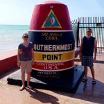 Southernmost spot.
