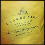 Coombe Farm Winery - our first stop!