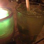 The 'Ginger' Mojito w/Sugar Cane stick garnish