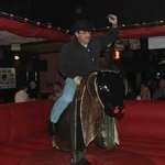 riding the bull was great