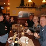A birthday celebration at Bella Italia