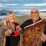 Robert and Denise at Te Mata Peak
