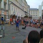 esibizioni in piazza