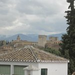 View of Alhambra from room 11
