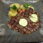 Grilled Rib Eye Steak