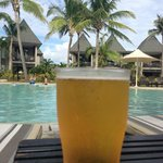 Cold beer by the family/kids pool