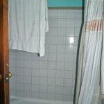Shower in the Honeymoon Suite