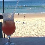 Cocktails on the verandah!