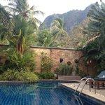 Swimming pool with WiFI