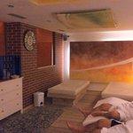 sauna e sala relax