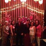 my family and Padma staff Michel aand Vita