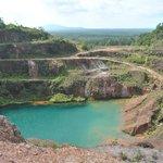 Open-pit mine, Kelapa Kampit, Belitung Island