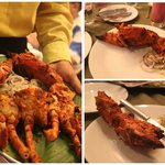 the awesome crab tandoor