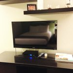 TV and decor